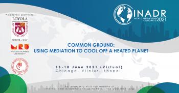 Iš Vilniaus bus transliuojamas Pasaulinis mediacijos kongresas